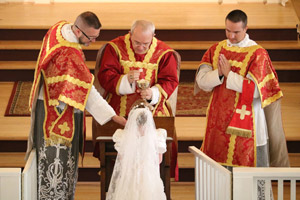 Pontifical Mass & First Communion 2018