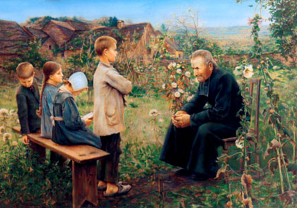 """""""Catechism Lesson"""" by Jules Alexis Meunier"""